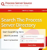 process server listing directory find